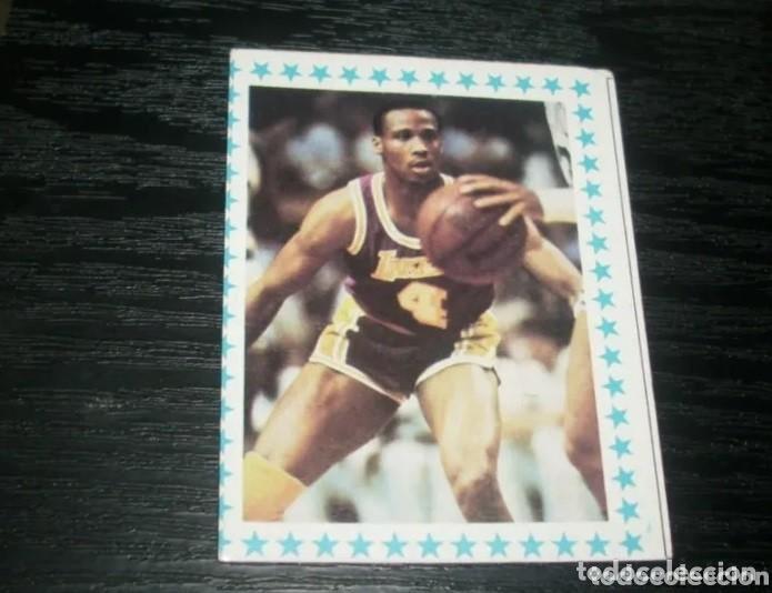 -YOGURES CLESA : 178 BYRON SCOTT ( L.A LAKERS ) !! ERROR !! MAGIC JOHNSON - RARE CARD BALONCESTO (Coleccionismo Deportivo - Cromos otros Deportes)