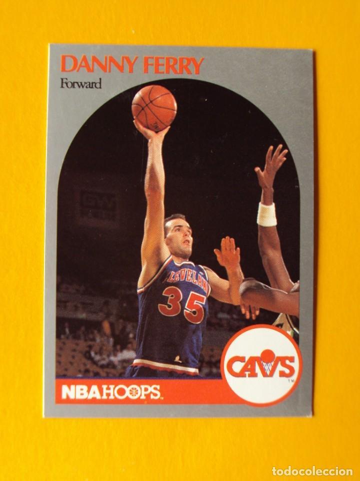 DANNY FERRY 406 NBA HOOPS 90 1990 1990-91 90-91 91 CLEVELAND CAVALIERS CAVS TRADING CARD (Coleccionismo Deportivo - Cromos otros Deportes)