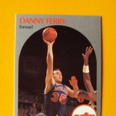 Coleccionismo deportivo: DANNY FERRY 406 NBA HOOPS 90 1990 1990-91 90-91 91 CLEVELAND CAVALIERS CAVS TRADING CARD. Lote 194906080