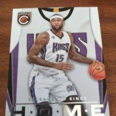 Coleccionismo deportivo: DEMARCUS COUSINS 24 NBA PANINI COMPLETE 2015-16 HOME SACRAMENTO KINGS. Lote 195171806