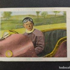 Coleccionismo deportivo: LEE GUINNES-AUTOMOVILISMO-Nº 11-CROMO ANTIGUO-PUBLICIDAD CHOCOLATE AMATLLER-VER FOTOS-(V-19.198). Lote 195313537