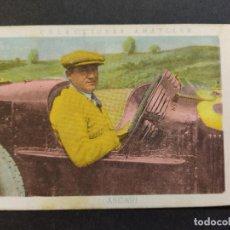 Coleccionismo deportivo: ASCARI-AUTOMOVILISMO-Nº 13-CROMO ANTIGUO-PUBLICIDAD CHOCOLATE AMATLLER-VER FOTOS-(V-19.200). Lote 195313691