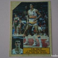 Coleccionismo deportivo: CROMO DE BALONCESTO SOLSONA TORRES DEL C.B. VALVI Nº 167 LIGA ACB 89 DE J.MERCHANTE. Lote 210185376