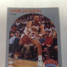Coleccionismo deportivo: -NBA HOOPS 90-91 : 205 MARK JACKSON ( NEW YORK KNICKS ) HERMANOS MENENDEZ MURDERERS LYLE & ERIK. Lote 197449990