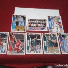 Coleccionismo deportivo: LOTE 8 CROMOS BALONCESTO ACB 2009 2010 PANINI BASKET FICHAS 09 10. Lote 198489058