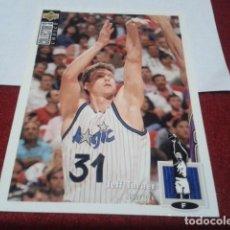 Coleccionismo deportivo: UPPER DECK COLLECTORS CHOICE 1994 NBA Nº 38 JEFF TURNER (ORLANDO MAGIC) - BASKETBALL 94 95. Lote 257303775