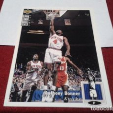 Coleccionismo deportivo: UPPER DECK COLLECTORS CHOICE 1994 NBA Nº 86 ANTHONY BONNER (NEW YORK KNICKS) - BASKETBALL 94. Lote 257303840