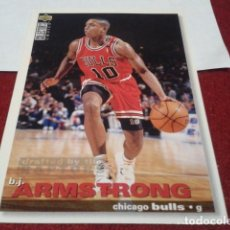 Coleccionismo deportivo: UPPER DECK B. J. ARMSTRONG (CHICAGO BULLS) N° 19 94-95 NBA - BASKETBALL1994 - 1995. Lote 257303670