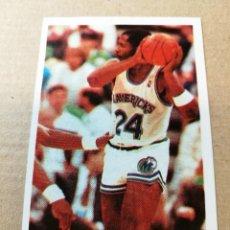 Coleccionismo deportivo: CROMO BASKET BALONCESTO ACB NBA 135 MARK AGUIRRE GIGANTES DEL BASKET CONVERSE 87 88 NUEVO. Lote 199258353