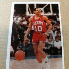 Coleccionismo deportivo: CROMO BASKET BALONCESTO ACB NBA 137 MAURICE CHEEKS GIGANTES DEL BASKET CONVERSE 87 88 NUEVO. Lote 199258385