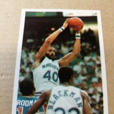 Coleccionismo deportivo: CROMO BASKET BALONCESTO ACB NBA 141 JAMES DONALSON GIGANTES DEL BASKET CONVERSE 87 88 NUEVO. Lote 199258428