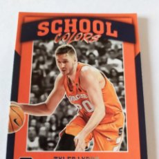 Coleccionismo deportivo: TYLER LYDON 28 PANINI CONTENDERS DRAFT PICKS 2017 SCHOOL COLORS SYRACUSE. Lote 199391133