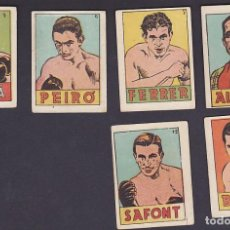 Coleccionismo deportivo: CROMOS BOXEO EDITORIAL EDITORIAL BRUGUERA 1942 4 EUROS UNIDAD . Lote 199459516