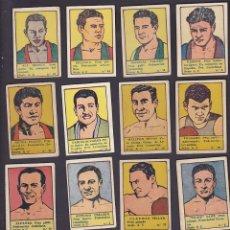 Coleccionismo deportivo: CROMOS BOXEO EDITORIAL VALENCIANA 1942 4 EUROS UNIDAD . Lote 199459622