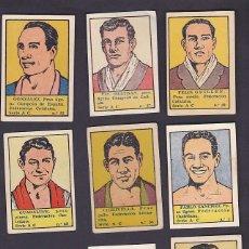 Coleccionismo deportivo: CROMOS BOXEO EDITORIAL VALENCIANA 1942 4 EUROS UNIDAD . Lote 199459676
