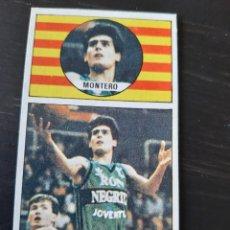 Coleccionismo deportivo: CROMO LIGA BALONCESTO 1986 1987 MERCHANTE Nº 92 JOSE A MONTERO (JOVENTUT BADALONA). Lote 199617973