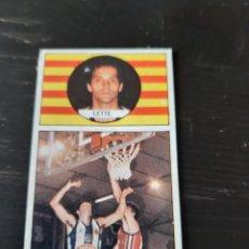 Coleccionismo deportivo: CROMO LIGA BALONCESTO 1986 1987 Nº 69 MIGUEL ANGEL LETE - LETTE ESPAÑOL ESPANYOL J. MERCHANTE. Lote 199618785