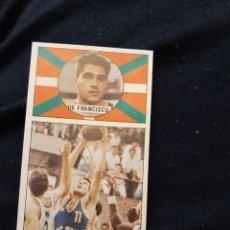 Coleccionismo deportivo: EDICIONES MERCHANTE DE FRANCISCO CAJA BILBAO CAJABILBAO BASKET BALONCESTO. Lote 199682016
