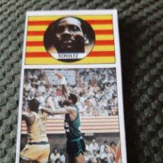 Coleccionismo deportivo: EDICIONES MERCHANTE SCHULTZ JOVENTUT JOVENTUD BADALONA BASKET BALONCESTO CONVERSE. Lote 199695341