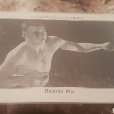 Coleccionismo deportivo: CROMO BOXEADORES CELEBRES RUCARDO ALIS. Lote 200253870
