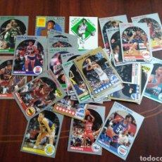 Coleccionismo deportivo: LOTE DE 51 CROMOS DE LA NBA HOOPS. Lote 201525273