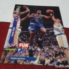 Coleccionismo deportivo: UPPER DECK COLLECTORS CHOICE NBA 1995 Nº 181 ISAIAH RIDER (MINNESOTA TIMBERWOLVES) - BASKETBALL 95. Lote 257303910