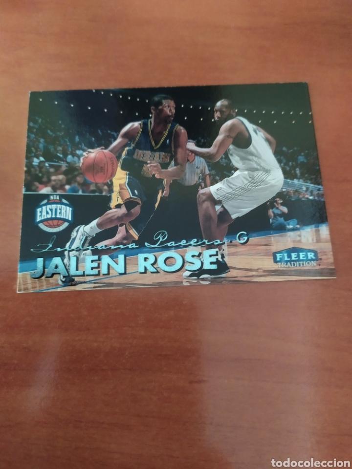 Jalen Rose 170 NBA Fleer Tradition 1999-00 Indiana Pacers segunda mano