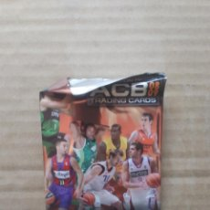 Coleccionismo deportivo: RICKY RUBIO JOVENTUT, NAVARRO BARCELONA, REYES REAL MADRID... SOBRE VACÍO LIGA ACB BALONCESTO 08-09. Lote 204191100
