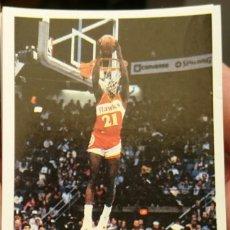 Coleccionismo deportivo: CROMO STICKER RARE DOMINIQUE WILKINS MERCHANTE ATLANTA HAWKS NBA GIGANTES DEL BASKET SPANISH. Lote 204482353