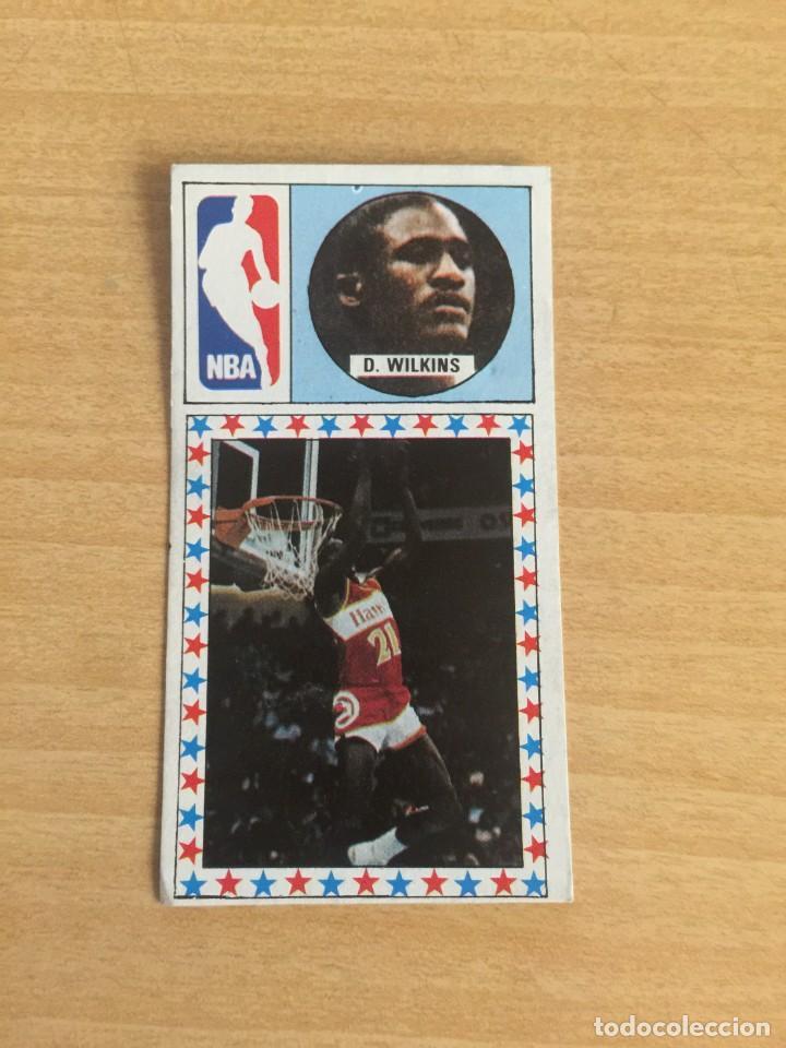 DOMINIQUE WILKINS Nº 170 BALONCESTO 1986-87 SIN PEGAR (Coleccionismo Deportivo - Cromos otros Deportes)