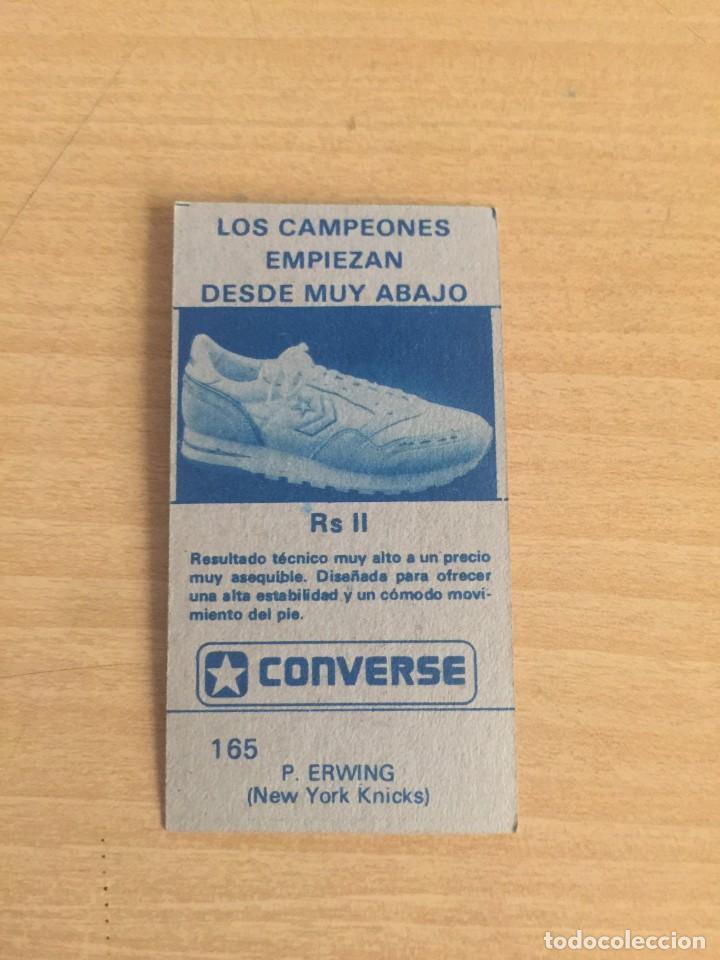 Coleccionismo deportivo: PAT ERWING Nº 165 Baloncesto 1986-87 Sin pegar - Foto 2 - 205343305