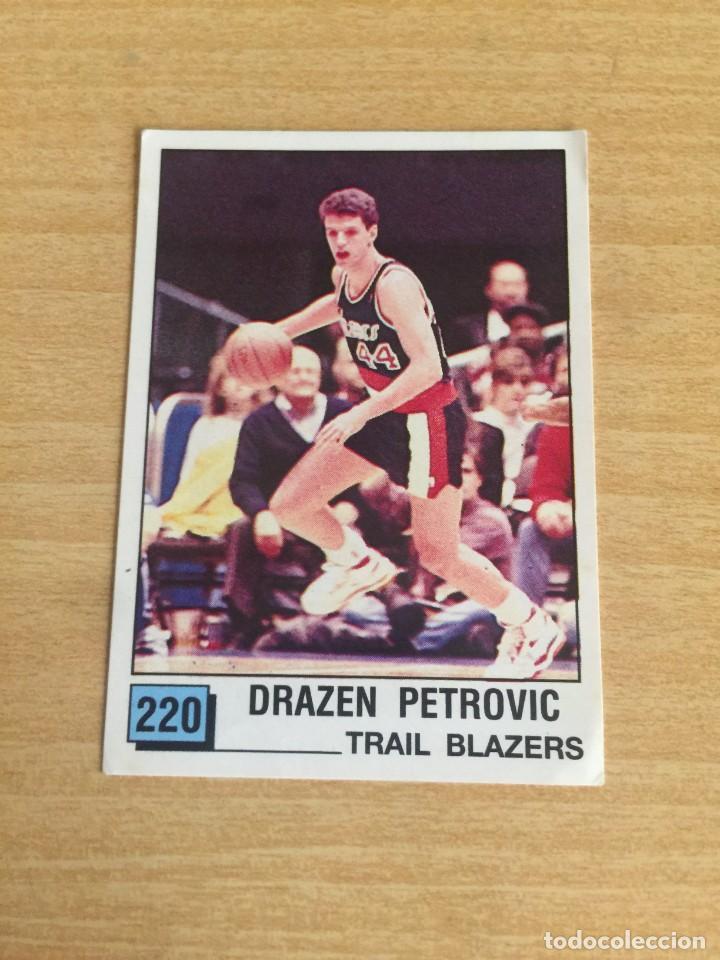 DRAZEN PETROVIC Nº 220 PANINI NBA 90 SIN PEGAR (Coleccionismo Deportivo - Cromos otros Deportes)