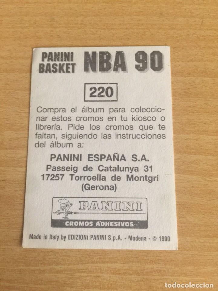Coleccionismo deportivo: DRAZEN PETROVIC Nº 220 PANINI NBA 90 SIN PEGAR - Foto 2 - 205350790