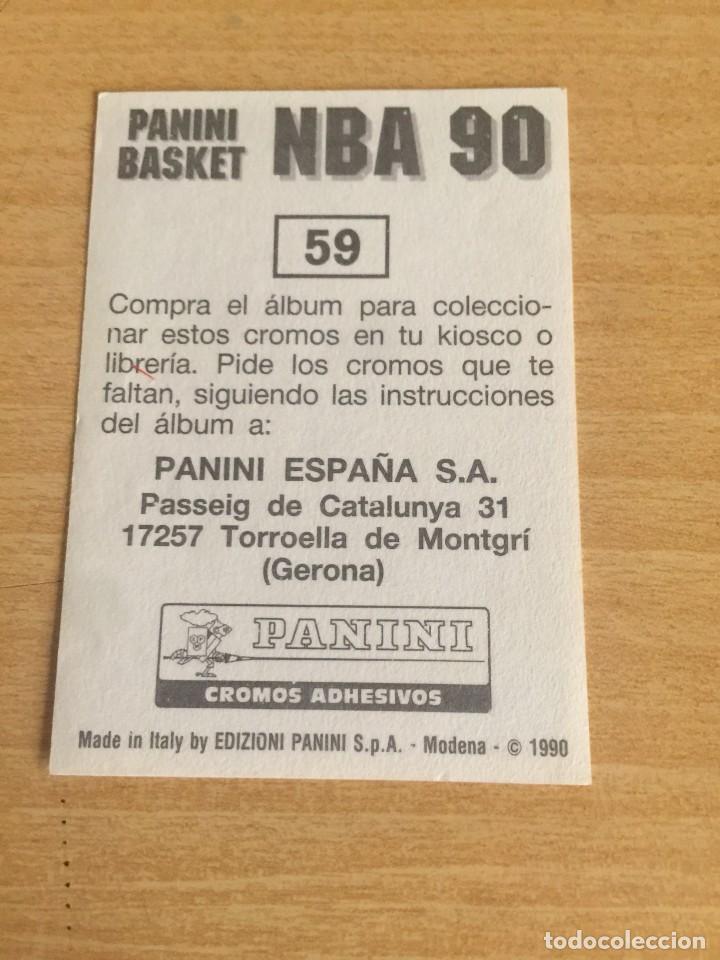 Coleccionismo deportivo: DOMINIQUE WILKINS Nº 59 PANINI NBA 90 SIN PEGAR - Foto 2 - 205350835