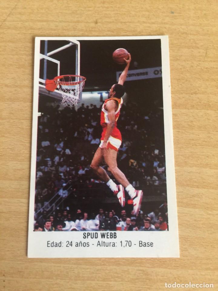 SPUD WEBB Nº 116 CONVERSE 1987 SIN PEGAR (Coleccionismo Deportivo - Cromos otros Deportes)