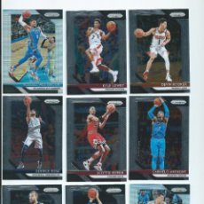 Coleccionismo deportivo: NBA PANINI PRIZM 2018-19 : SET BASE SILVER PARCIAL (110 DE 300) + AUTOGRAFO MARK JACKSON + INSERTS. Lote 205572720