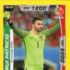 Coleccionismo deportivo: FUTBOL WORLD CUP RUSSIA 2018 PERU TRADING CARD RUI PATRICIO S.C. PORTUGAL WOLVERHAMPTON. Lote 205712081