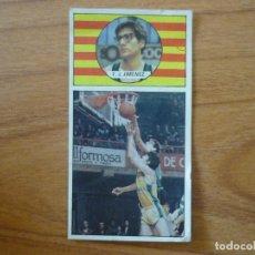 Coleccionismo deportivo: CROMO LIGA BALONCESTO 1986 1987 MERCHANTE Nº 99 PACO JIMENEZ (JOVENTUT BADALONA) - DESPEGADO 86 87. Lote 206165486
