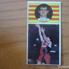 Coleccionismo deportivo: CROMO LIGA BALONCESTO 1986 1987 MERCHANTE Nº 105 JOSEP PUJOLRAS (TDK MANRESA) - DESPEGADO 86 87. Lote 206165810