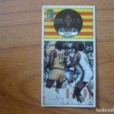 Coleccionismo deportivo: CROMO LIGA BALONCESTO 1986 1987 MERCHANTE Nº 112 JAMES WRIGHT (MAGIA HUESCA) WRIGT DESPEGADO 86 87. Lote 206166427