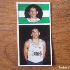 Coleccionismo deportivo: CROMO LIGA BALONCESTO 1986 1987 MERCHANTE Nº 134 RODRIGUEZ (OXIMESA) - DESPEGADO 86 87. Lote 206173422
