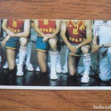 Coleccionismo deportivo: CROMO LIGA BALONCESTO 1986 1987 MERCHANTE 136 SELECCION ESPAÑA 1 - DESPEGADO - 86 87. Lote 206176532