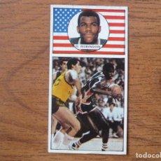 Coleccionismo deportivo: CROMO LIGA BALONCESTO 1986 1987 MERCHANTE Nº 150 DAVID ROBINSON (USA) EE UU - DESPEGADO 86 87. Lote 206177103
