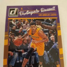 Coleccionismo deportivo: D'ANGELO RUSSELL 64 NBA PANINI DONRUSS 2016-17 LOS ANGELES LAKERS. Lote 206191086