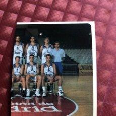 Collezionismo sportivo: LIGA ACB 95-96 95 96 MUNDICROMO SPORT Nº 33 PLANTILLA REAL MADRID. Lote 206270086