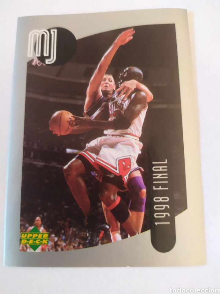 MICHAEL JORDAN 60 NBA UPPER DECK 1998-99 MJ STICKER COLLECTION CHICAGO BULLS (Coleccionismo Deportivo - Cromos otros Deportes)