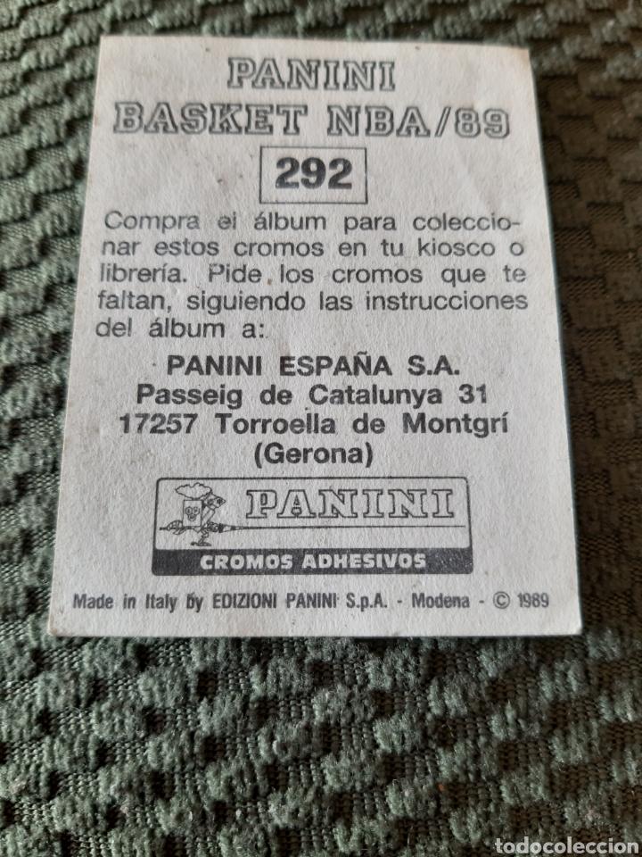 Coleccionismo deportivo: PANINI BASKET NBA 89 #292 DOUG MOE SIN PEGAR - Foto 2 - 206810376