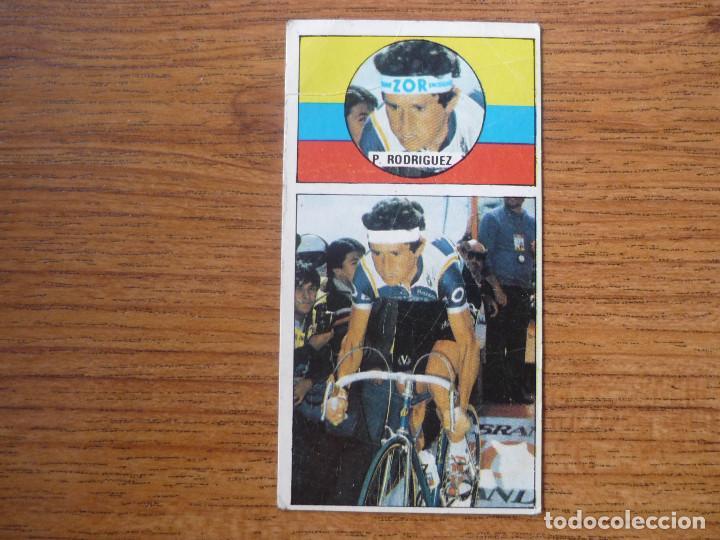 CROMO CICLISMO ASES DEL PEDAL MERCHANTE 1987 Nº 33 PACHO RODRIGUEZ (ZOR BH) SIN PEGAR - VUELTA 87 (Coleccionismo Deportivo - Cromos otros Deportes)