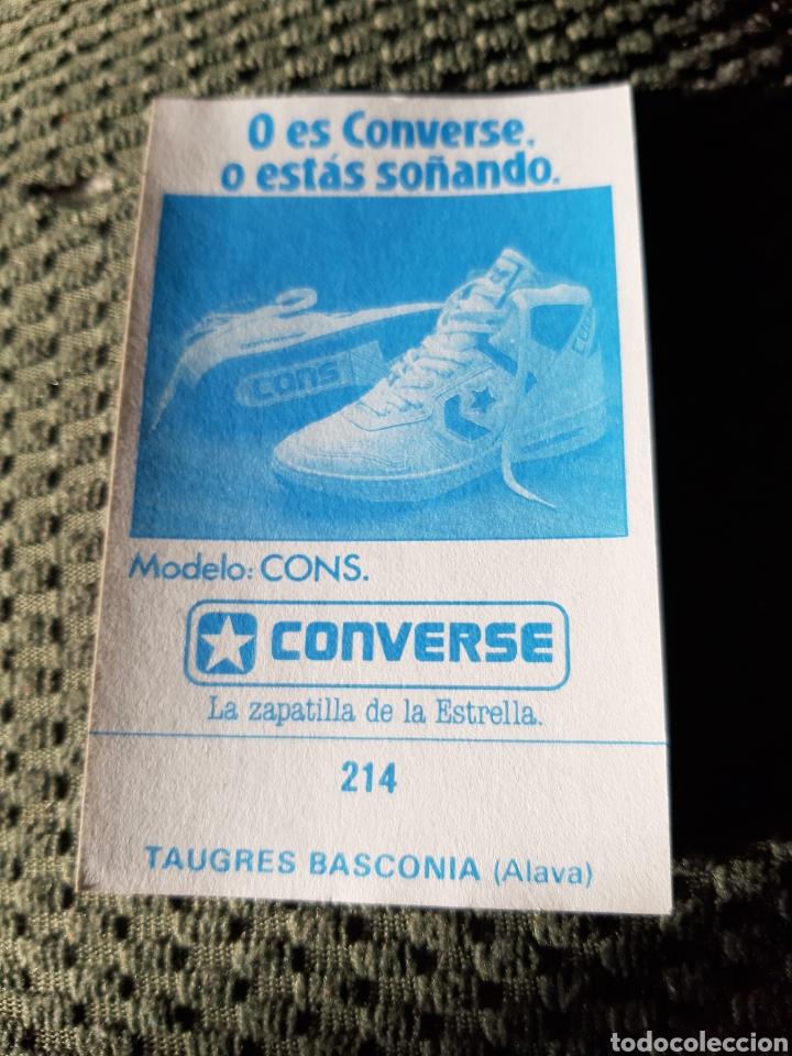 Coleccionismo deportivo: TAUGES BASCONIA MERCHANTE ADHESIVO NUEVO 87 88 - Foto 2 - 206821408