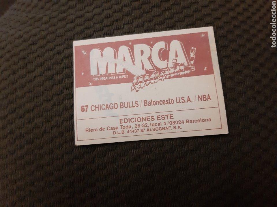 Coleccionismo deportivo: CHICAGO BULLS MARCA MANIA#67 SIN PEGAR MARCAMANIA EDICIONES ESTE - Foto 2 - 206833613